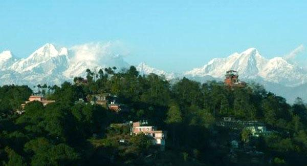 View of Nagarkot : Sightseeing in Kathmandu Valley and Nagarkot