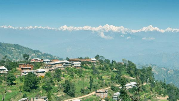 View From Dhulikhel : Sightseeing In Kathmandu Valley, Nagarkot and Dhulikhel